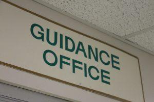 school guidance counselor working online