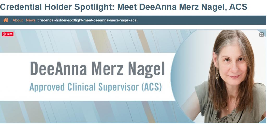 DeeAnna Nagel Clinical Supervisor